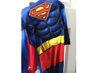 Superman Costume, George, 7-8yrs boys. Great condition.