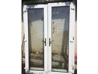 Patio doors and frame no leys