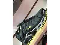 Mens Nike air max TNs blk/green speckles (6-11)