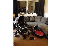 Icandy Peach Push Chair (Berry BonBon)