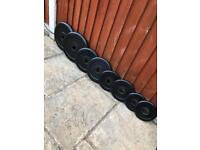 Excellent Cond Olympic Weights Set. •Can Deliver*