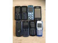 8 B LINE UNLOCKED BASHER PHONES