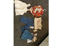 Baby girls 0-3 months brand new clothes