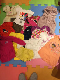 Bundle of clothes for 3-4 years old girl (14 items) Monsoon, Disney, Baby Gap