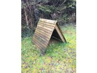 FREE chicken, rabbit, guinea pig hutch/run