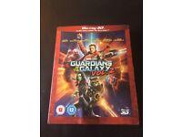 Brand new Guardians of the Galaxy Vol 2 Blu ray 3D