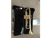 Trumpet-Jupiter JTR-408L, as new condition with hard case and accessories-unwanted gift...BARGAIN!