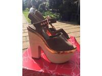 Topshop wedge heels