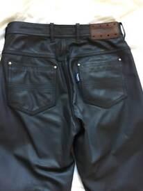 Triumph leather jeans