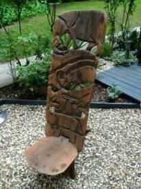 Chair wooden