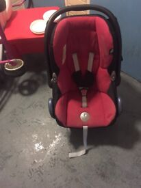 Maxi cosi car seat with safety