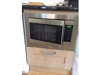 CDA CM2SS Built in Combination Microwave Oven