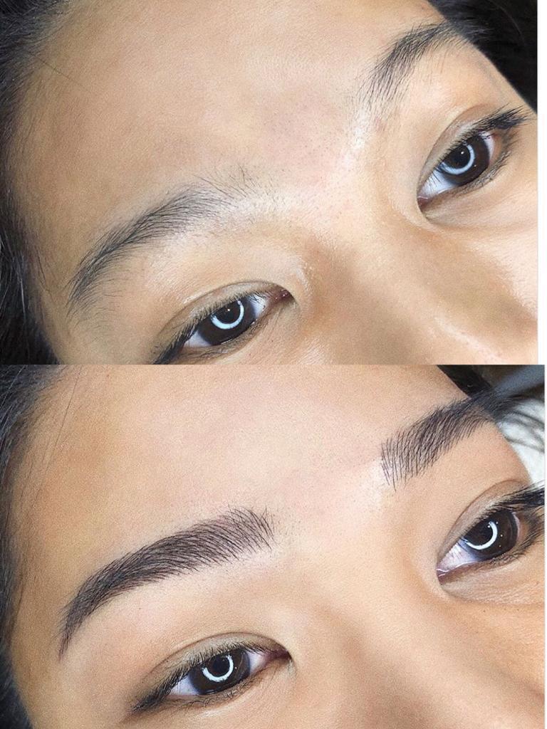 Latest Korean Technology Semi Permanent Eyebrow Microblading 3d6d