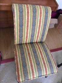 """Lovely Modern """"Slipper"""" Chair"""