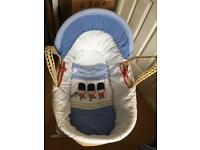 Little soldiers Moses basket