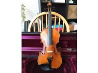 Eastman Young Master Violin 4/4 (played in by professional) + High Quality Pickup