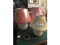 Attractive Selection of Vintage Table Lamps – From £20