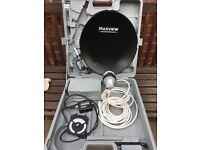 Satellite dish Omnisat camping kit Maxview