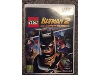 Wii LEGO BATMAN 2 game for sale