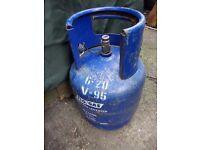 4.5kg gas flow butane bottle empty
