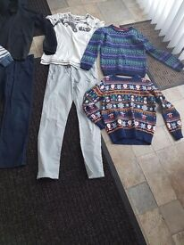 Boys bundle of clothes 8-11 years old