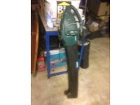 Grass Blower {Electric} No catch Bag good working order