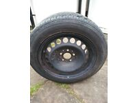 W210 Mercedes E320 factory wheel and Tyre