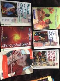Childcare books x 5