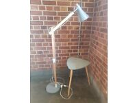 Beautiful Contemporary Floor Lamp and Side Table