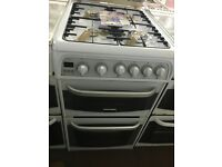 50CM WHITE CANNON GAS COOKER
