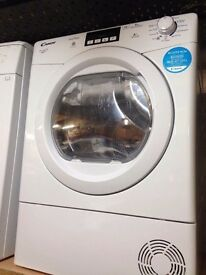 CANDY 9KG HEAT PUMP CONDENSER DRYER A++ ENERGY RATING WHITE RECONDITIONED