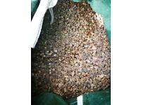 Garden stones shingle natural brand new 1/4 if a tone