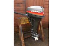 Mariner 15hp 2-Stroke Long shaft Outboard Mint Condition