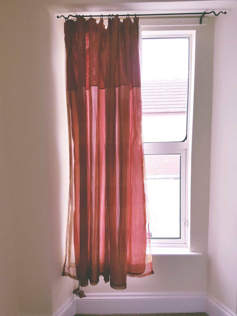 Good condition curtains.