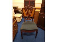 Single Shield Back Chair