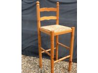 Tall bar stool type chair £10