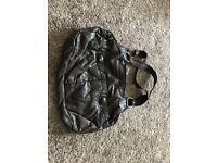 Brown Animal leather handbag