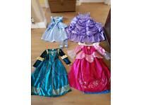 Disney princess dresses sleeping beauty merida Cinderella Sofia age 5-8