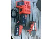 Milwaukee 18v nut gun