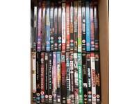 32 dvd's