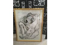 Picasso framed picture