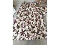 Curtains - Laura Ashley material