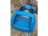 PEDAL CAR BODY SHELL FOR SPARES OR RESTORATION