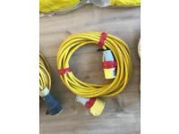 110 volt leads, splitter, light £50 the lot