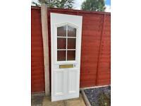 Upvc door panel insert - white