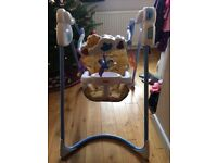 Fisher Price Flutterbye Dreams Baby Swing