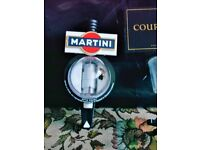 BAR OPTICS FOR SPIRIT MEASURES, WHISKY, VODKA, GIN ETC. THESE HAVE MARTINI AND COURVOISIER LOGOS ON