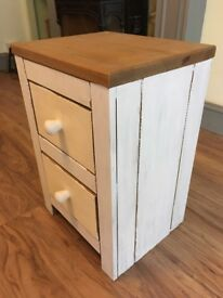 Small chest of drawers, shabby chic