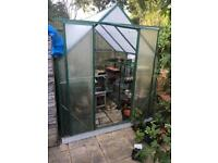 6x6 polycarbonate greenhouse