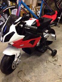 BMW battery motorbike